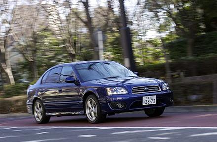 スバル・レガシィB4 RS30(4AT)【ブリーフテスト】