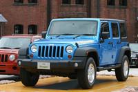 2010年6月17日に発表された特別仕様車「ラングラー アンリミテッド アイランダー」。