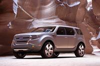 「フォード・エクスプローラー・アメリカコンセプト」(写真=フォード)