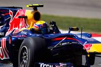 """圧勝したウェバーは今年誰よりも多い3勝目をマークし、チャンピオンシップで4位から3位に浮上した。しかしフロントウィングをめぐるレッドブル内の""""ベッテルびいきのきらい""""に憤慨しており、チームメイト間の微妙な関係があらわになった週末でもあった。(写真=Red Bull Racing)"""