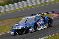 No.17 KEIHIN NSX-GT(塚越広大/小暮卓史)。ピットスタートから健闘を見せ、2位表彰台を獲得した。