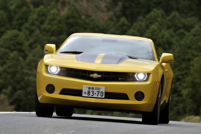 シボレー・カマロLT RS(FR/6AT)【試乗記】