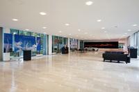 ヨーロピアンR&Dセンターのエントランスホール。