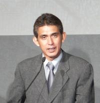 SUPER AGURI F1チームの鈴木亜久里代表。