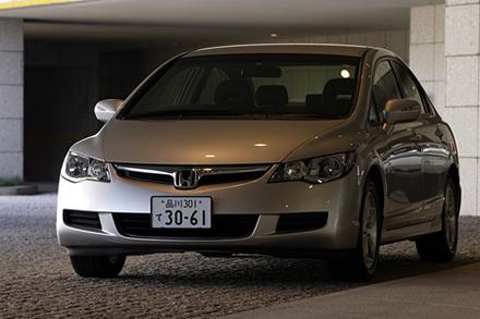 ホンダ・シビック1.8GL(5AT)/シビックハイブリッドMX(CVT)【試乗速報】