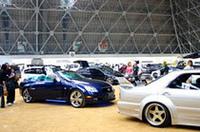 カーオーディオやドレスアップ自慢の愛車が多数エントリー。約120台が参加予定。