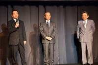 2013年、アウディのモータースポーツ活動に深くかかわる3氏。写真左から、apr代表の金曽裕人氏、Hitotsuyama Racing代表の一ッ山幹雄氏、そしてノバ・エンジニアリングの森脇基恭氏。