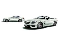 白×黒でキメた「SLクラス」の限定車発売の画像
