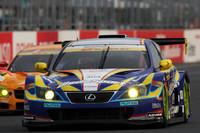 No.19 ウェッズスポーツIS350(織戸学/片岡龍也組)は、GT300クラスでシリーズチャンピオンを獲得した。