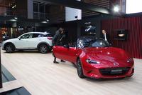 マツダのアートワーク展示「This is Mazda Design. CAR as ART」は2015年10月25日までの開催。