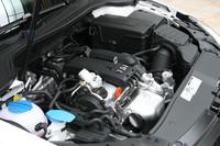 1.2リッターTSIエンジンは従来と同じ105psと17.8kgmを発生。