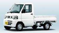 「三菱ミニキャブ トラック」のOEMモデルである「日産NT100クリッパー」