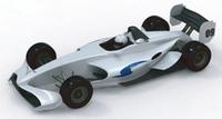 決勝日には「2009〜2011 JRP中期計画報告会」が開かれ、来シーズンから使われる新型マシンのデザインが公開された。ボディ&ウィングサイズを全体的に拡大、エンジンは3リッターから3.4リッターになる。(写真=JRP)