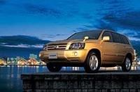トヨタ「クルーガー」をマイナーチェンジの画像
