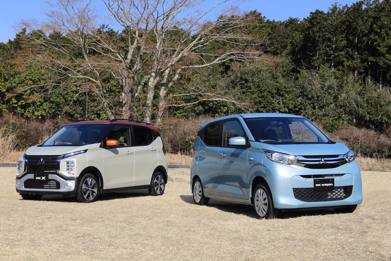 【自動車】三菱が新型軽乗用車「eKワゴン」「eKクロス」を発売