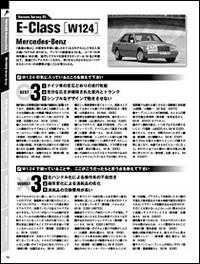 昔ほど壊れないとはいえ、国産車ほどメインテナンス・フリーとはいかない輸入車のオーナーたちが語る本音の証言、66車種・3002人分を凝縮。ドイツ車はメルセデスSL、Sクラス(W126、W140)、Eクラス(W124、W210)、Cクラス(W202)、190E、ポルシェ911(930、964、993、996)、ボクスター、944、BMW 7シリーズ(E38)、5シリーズ(E34、E39)、3シリーズ(E30、E36)、Z3、フォルクスワーゲン・ゴルフ(II、III、IV)、アウディA4、A6など多士済々。