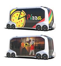 トヨタ、モビリティーサービス向けの新たなEVコンセプトを発表の画像