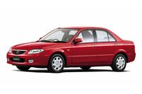 1998年から2004年まで販売されていた9代目「マツダ・ファミリア」。