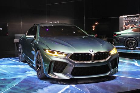 いよいよ開幕した第88回ジュネーブ国際モーターショー。BMWは2019年に発表予定の「8シリーズ グランクーペ...