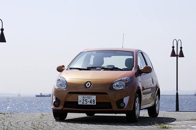 ルノー・トゥインゴ(FF/5AT)【試乗記】