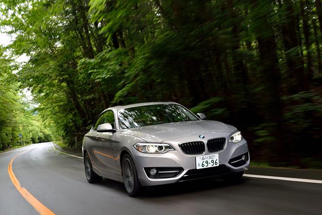 BMW 220iクーペ スポーツ(FR/8AT)【試乗記】
