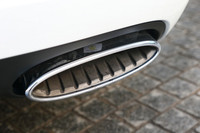 スパイラル加工が施されたエキゾーストエンドは「GTスピード」の証し。