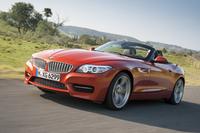 オプションパッケージの「デザイン・ピュア・トラクション」を採用した「BMW Z4」。