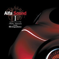 『Alfa Sound I  compiled and mixed by Toshio Matsuura Featuring 8C competizione 』 価格:2800円(税込) 正規ディーラーをはじめ、全国のレコードショップ、インテリアショップなどで発売