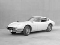 1967年に市販開始された「トヨタ2000GT」。トヨタとヤマハ発動機が共同開発した日本初の本格的なグランツーリズモ。