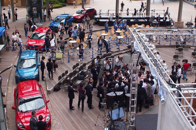 イベントは六本木ヒルズのヒルズアリーナで開催された。