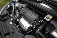 自然吸気の1.6リッターエンジンは、従来型と同じく120psと16.3kgmを発生する。
