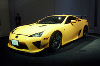 「LFA Nurburgring Package」も公開された。(写真=webCG)