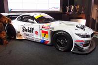 2014年シーズンを戦う「BMW Z4 GT3」。車体中央にロゴが見えるSteiff(シュタイフ)はメインスポンサー。テディベアなどを扱うぬいぐるみメーカーとして知られる。