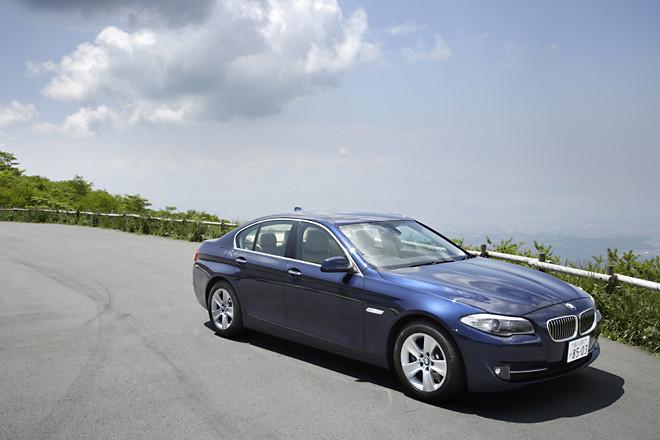 BMW528i(FR/8AT)【試乗記】