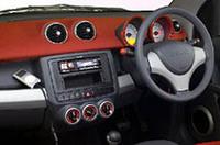 「スマート・フォーフォー」にiPodで音楽が聴ける限定車の画像