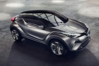 トヨタ、5ドア仕様のC-HRコンセプトを公開【フランクフルトショー2015】の画像