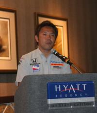 インディーカーに参戦中の松浦孝亮選手。チームは鈴木亜久里率いる「スーパーアグリフェルナンデス」。