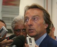 フィアットのモンテゼーモロ会長。2006年7月25日午後、マラネッロにて。