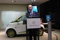 メルセデス・ベンツ日本のニコラス・スピークス代表取締役社長。