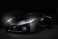 日産が公開した謎のコンセプトカー。次期「GT-R」を示唆している?