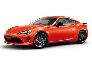 トヨタ86に特別なオレンジ色の限定車登場