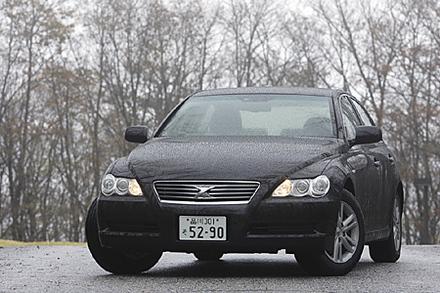 トヨタ・マークX300Gプレミアム(6AT)【ブリーフテスト】