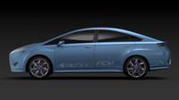 トヨタ、燃料電池車コンセプト「FCV-R」出展【東京モーターショー2011】の画像