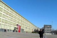 1982年までフィアット工場として使われていた、会場の「リンゴット」。