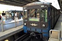 ブダペストの地下鉄といえば、世界初の電気運転の地下鉄である1号線が有名だが、この3号線も、ほどよいレトロ風味を出している。