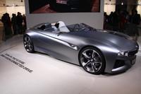 ドイツ勢の姿も。写真は、BMWのコンセプトモデル。