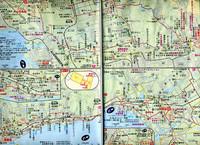 へんろみち保存協会の地図。ものすごい情報量に満ちている。入手方法などの詳細はhttp://www.iyohenro.jp/へ。