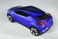 トヨタから小型クロスオーバー車のコンセプト【パリサロン2014】の画像