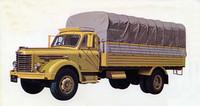 戦後の日野自動車の礎を築いた大型トラックの「TH型」。剣道の面のようなグリルを持つスタイルは基本的に不変のまま、1950年から68年まで20年近くにわたって作られたロングセラーだった。