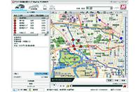 下のドライブマップ印刷をクリックすればルートに沿ったドライブマップを簡単に印刷できる。拡大写真はこちら